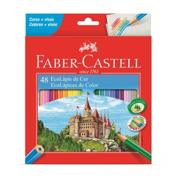 Ecolápis de Cor  48 Cores - Faber-Castell