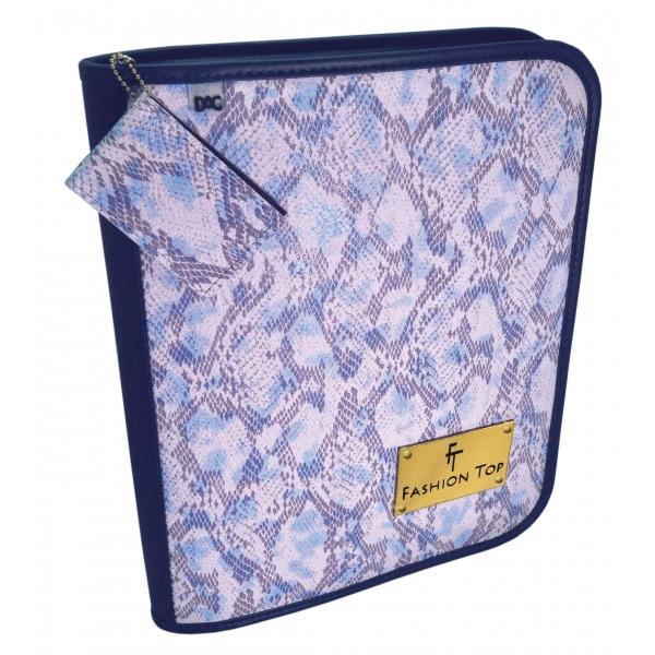 c5ef0b6f3 OFERTA ) Fichário Universitário Fashion Top - Azul : DAC - Papelaria ...
