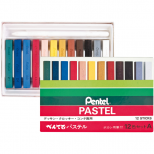 Giz Pastel Seco 12 cores - Pentel