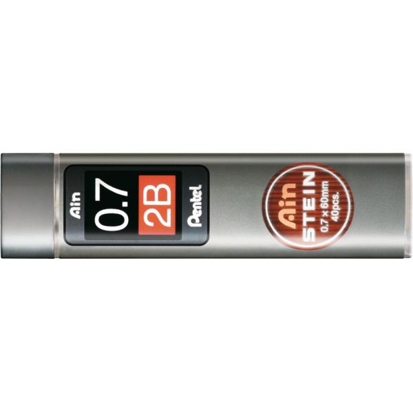 Grafite Ain Stein 0.7mm 2B - Pentel