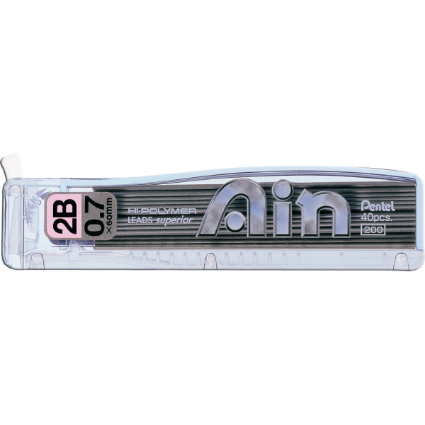 Grafite Ain 0.7mm 2B - Pentel