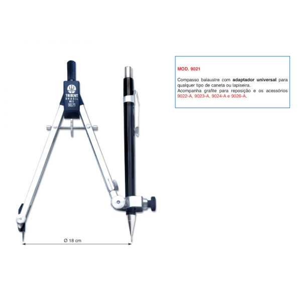 Compasso Mod. 9021 - Trident