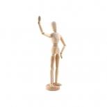 Manequim Articulado Feminino 30 cm - Keramik
