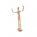 Manequim Articulado Masculino 30 cm - Keramik