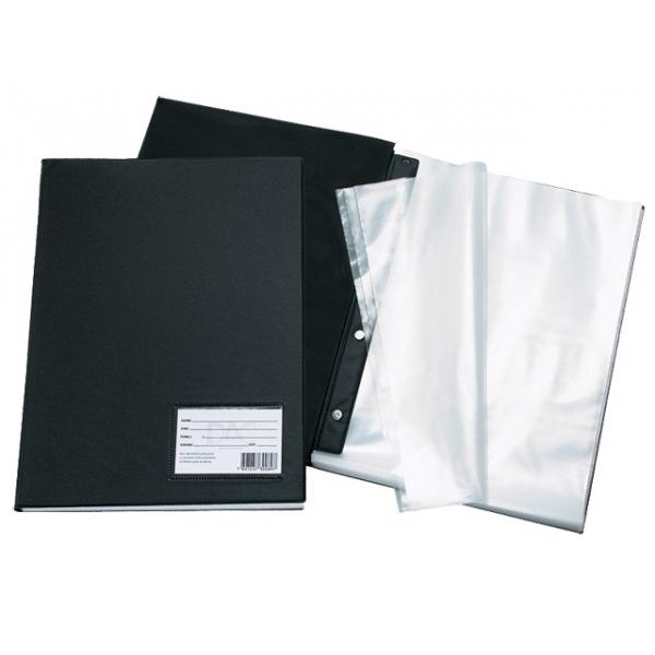 Pasta Catálogo PVC Preto - 100 sacos - DAC