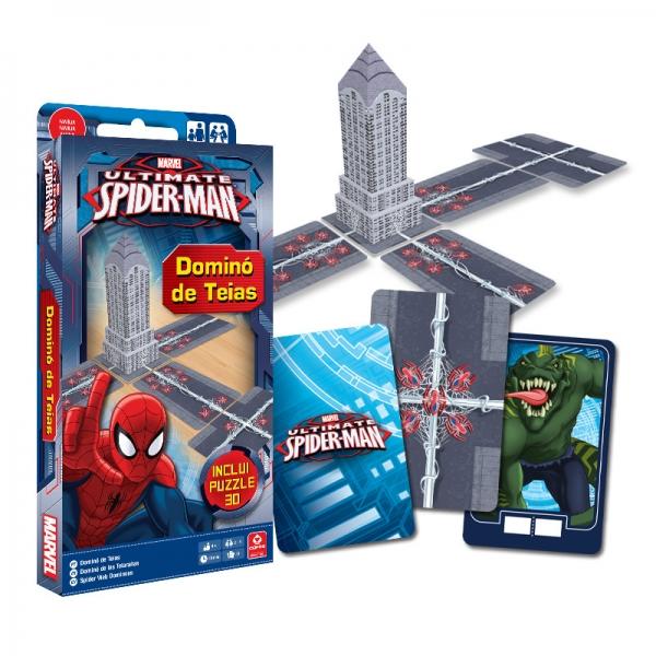 Jogo Homem-Aranha Ultimate - Dominó De Teias - Copag