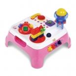 Mesa Maxi Com Som - Rosa - Magic Toys