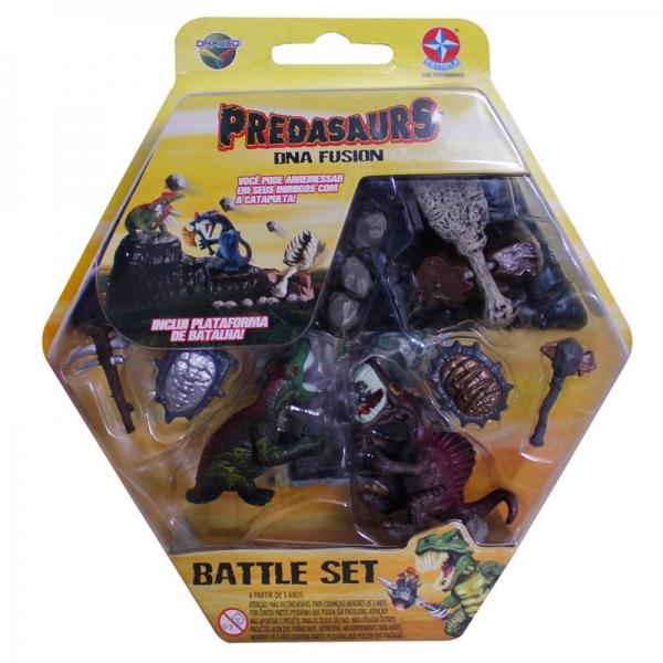 Predasaurs Battle Set - Lothar e Sumon - Estrela