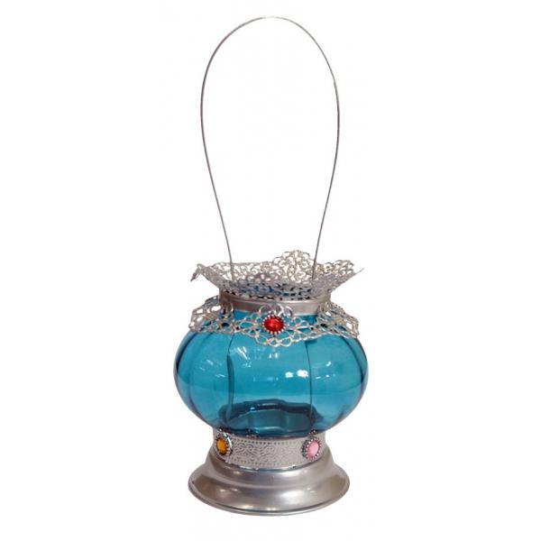 Lanterna Babado Blue - Trevisan Concept