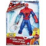 Boneco Spider Man  Ataque Triplo - Hasbro