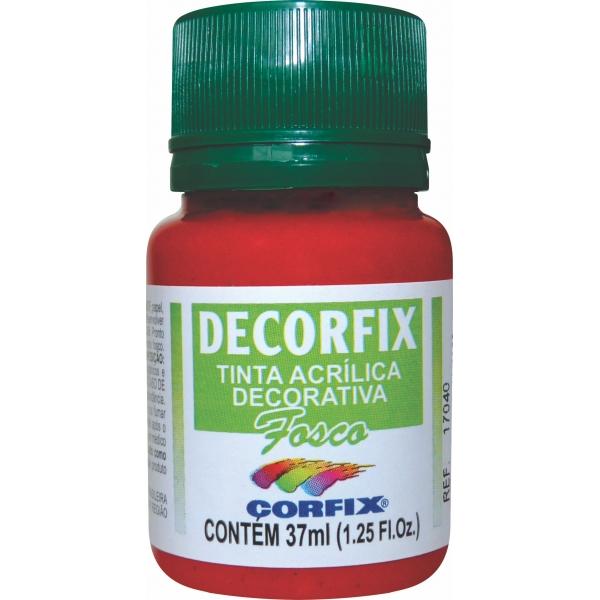 Tinta acrílica Decorfix Fosca 37ml - Corfix