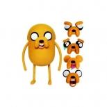 Boneco Adventure Time - Jack Troca-Faces De Luxe - Multikids