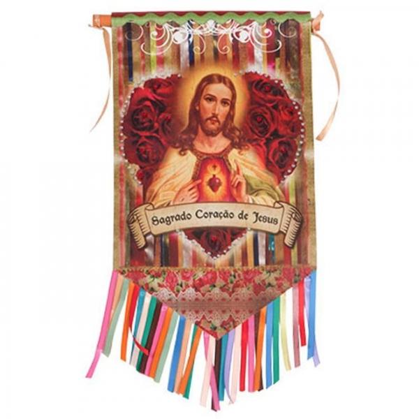 Flag Sagrado Coração de Jesus - Trevisan Concept