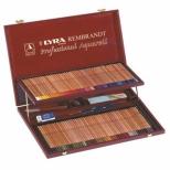 Lápis de Cor Aquarelável Rembrandt Professional Aquarell Estojo de Madeira com 106 unidades - Lyra