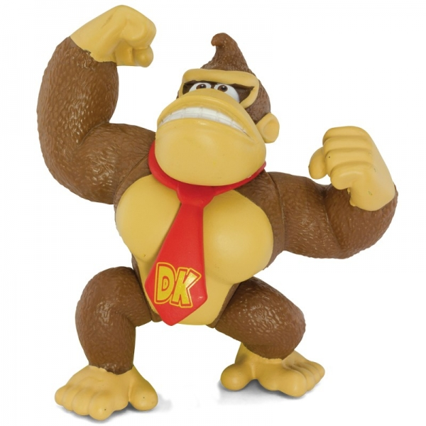 Boneco Donkey Kong - World of Nintendo - DTC.