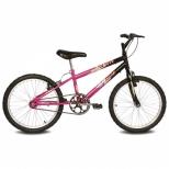 Bike Brave - Aro 20 - Preto / Pink - Verden Bikes
