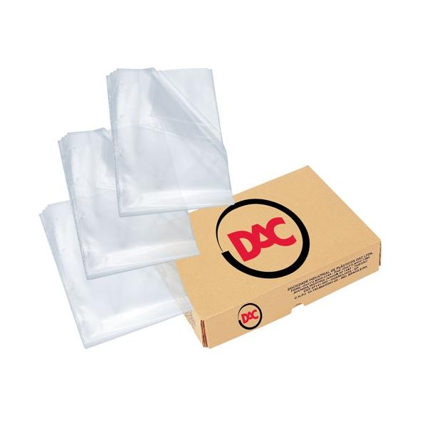 Caixa c/400 Sacos Plásticos Grossos Ofício 4 Furos - DAC