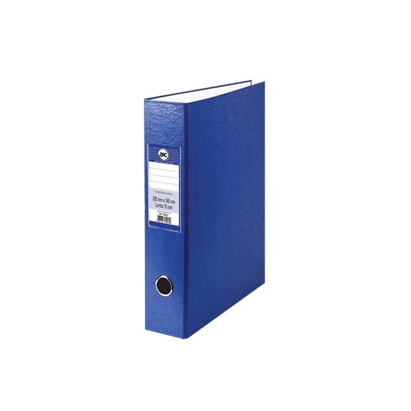 Registrador AZ -Ofício - Lombo 75mm - Pacote com 6 unidades - DAC