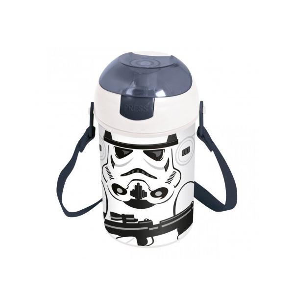 Garrafa Pop Up Star Wars Stormtrooper - Ludi
