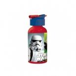 Garrafa Canudo Retrátil Star Wars Personagens - Ludi