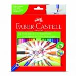 Ecolápis de Cor Super Ponta 24 cores - Faber-Castell