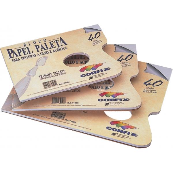 Bloco Papel Paleta  A4 - Corfix