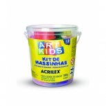 Kit de Massinhas Art Kids - Acrilex