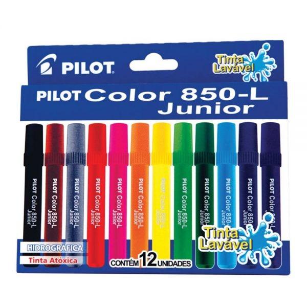 Hidrográfica Pilot Color 850-L Junior 12 cores - Pilot