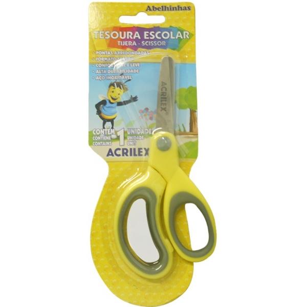 Tesoura Escolar - Acrilex