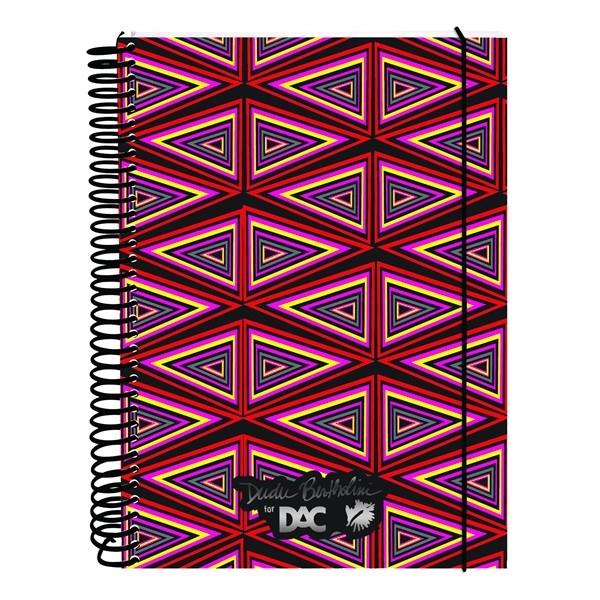 Caderno Universitário Capa Dura Dudu Bertholini - 10 Matérias - 200 Folhas - DAC