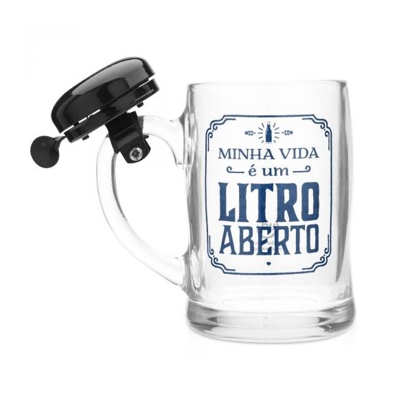 Caneco Campainha Litro Aberto - Ludi