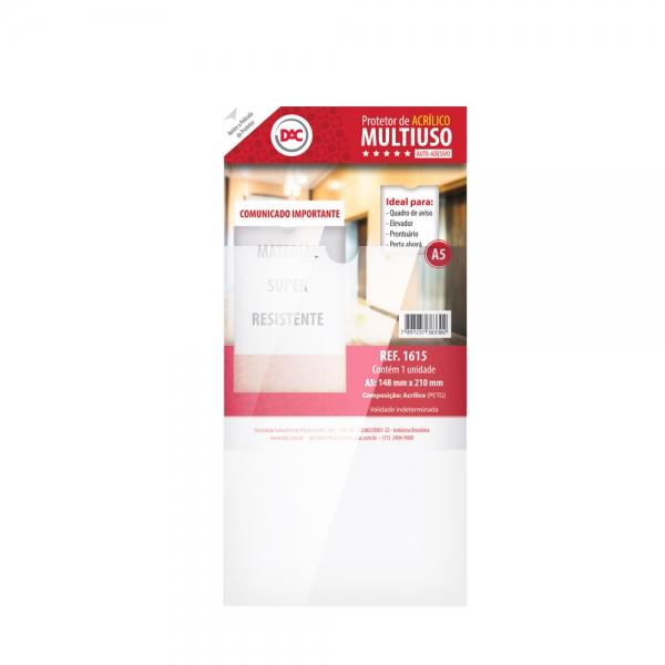 Protetor de Acrílico Multiuso A5 - DAC