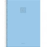 Caderno Universitário Capa Dura Fluor Mix Soft - 10 Matérias - 200 Folhas - Foroni