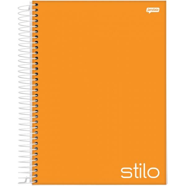 Caderno Universitário Capa Dura Stilo - 1 Matéria - 96 Folhas - Jandaia