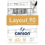 Bloco Lay-Out 90 Margeado A2 - Canson