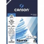 Bloco Aquarela A3 - Canson