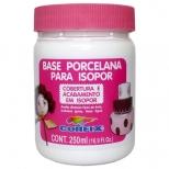Base Porcelana para Isopor 250ml - Corfix