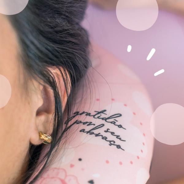 Almofada Massageadora Botão Mãe Gratidão - Ludi