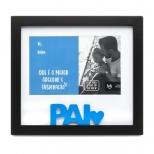 Porta Retrato Cartão Melhor Pai - Ludi
