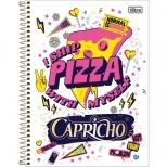Caderno Universitário Capa Dura Capricho - 10 Matérias - 200 folhas - Tilibra
