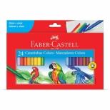 Canetinha Hidrocor 24 cores - Faber-Castell