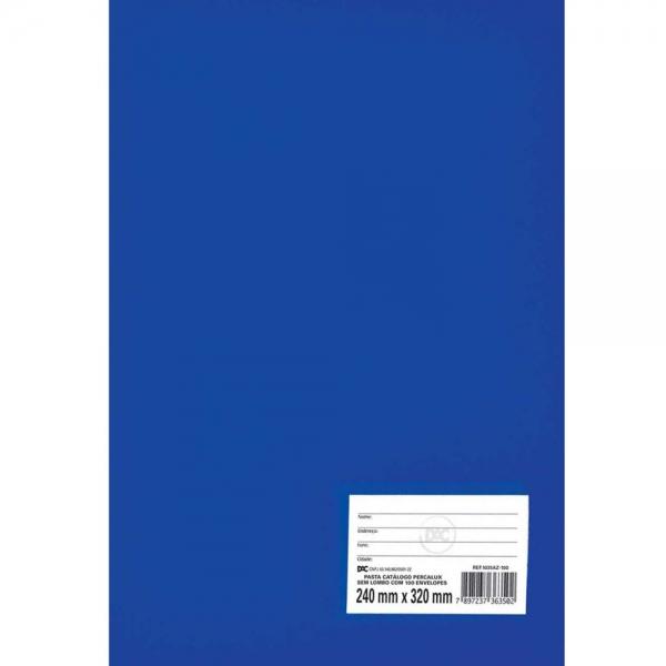 Pasta Catálogo Percalux sem lombo - 50 sacos - DAC