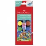Aquarela em Pastilha 12 Cores - Faber-Castell