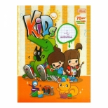 Caderno Brochura Capa Dura Kids Aritmética 7mm x 7mm 40 folhas - Tilibra