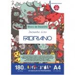 Bloco Desenho Liso A4 - Fabriano