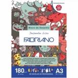 Bloco Desenho Liso A3 - Fabriano