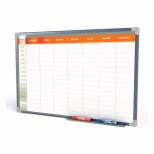 Quadro Branco Planejamento Semanal 60 x 40 cm - Stalo