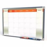 Quadro Branco Planejamento Mensal 100 x 70 cm - Stalo