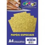 Papel especial - Glitter - Off Paper