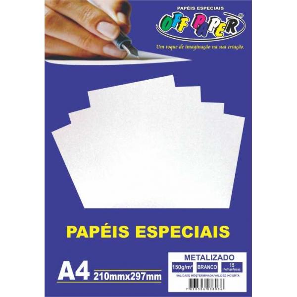 Papel Especial - Metalizado - Off Paper